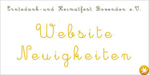 Website Neuigkeiten